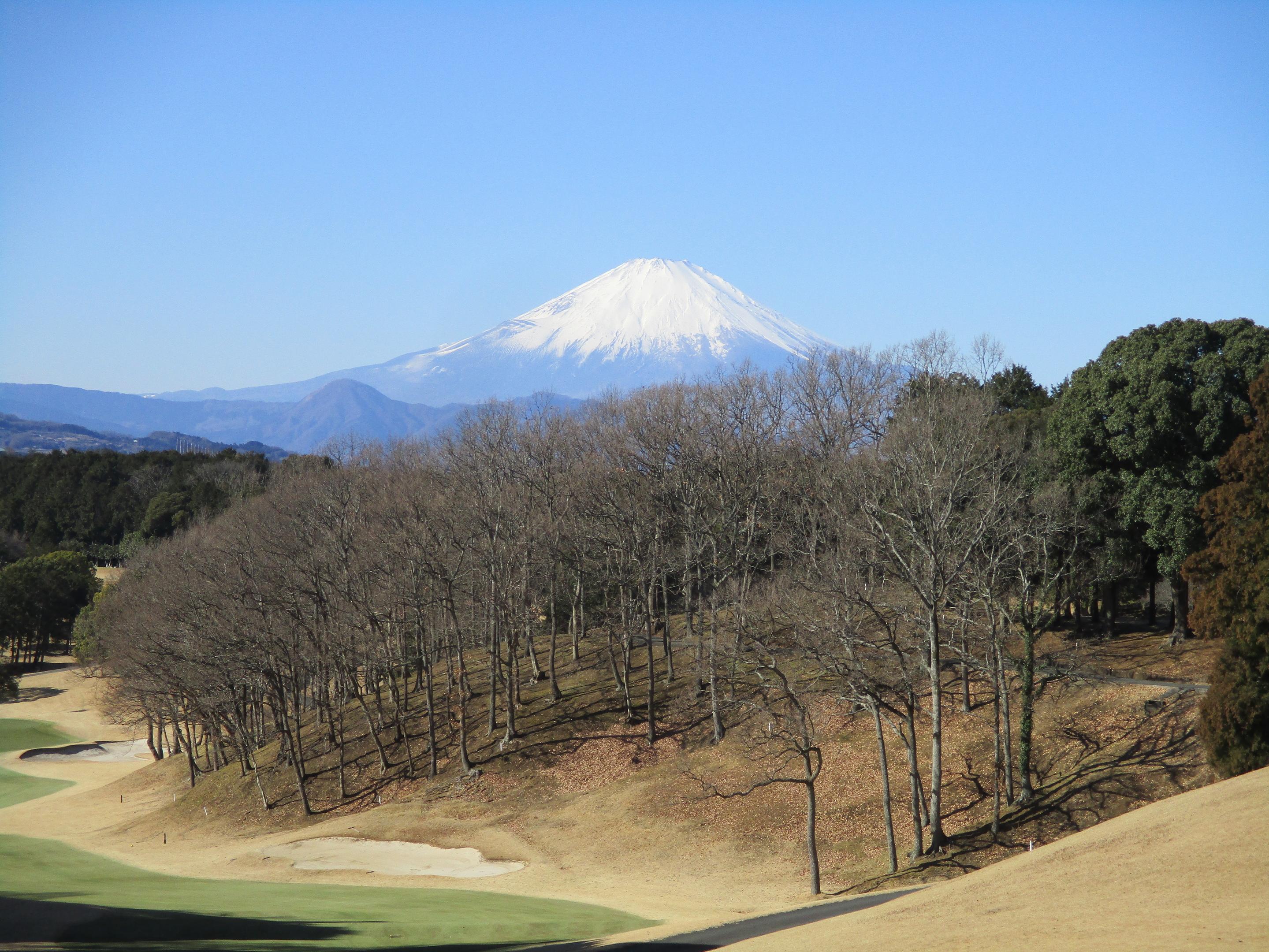 富士山は絶景です