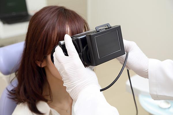 赤外線CCD眼振検査器